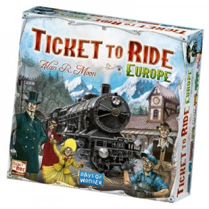Ticket to Ride - Europe (NL)