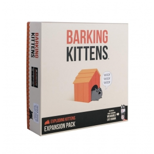 Exploding Kittens - Barking Kittens Expansion