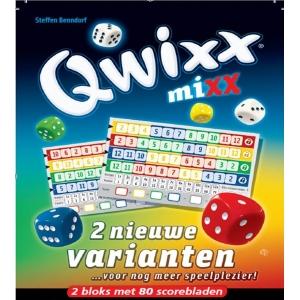 Qwixx - Mixx (2 nieuwe spelvarianten)